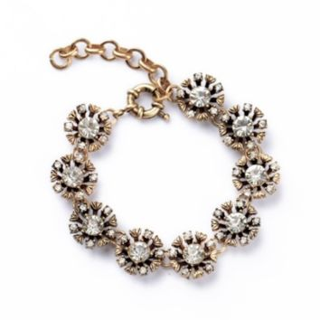 Bloom Crystal Bracelet