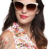 ModCloth Vintage Inspired Hollywood If I Could Sunglasses