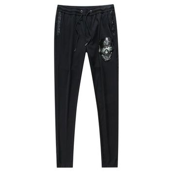 ONETOW Boys & Men Philipp Plein Casual Pants Trousers