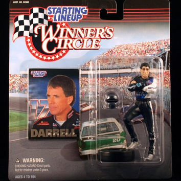 DARRELL WALTRIP / WESTERN AUTO 1998 Winner's Circle Starting Line NASCAR Series Action Figure & Exclusive Collector Trading Card
