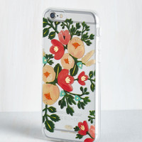 Travel Fleur of the Worlds iPhone 6 Case by Rifle Paper Co from ModCloth
