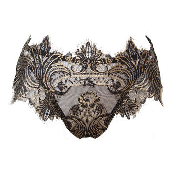 Cassiopeia High-Waist French Lace Brief
