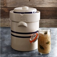 Large Ohio Stoneware Fermentation Crock