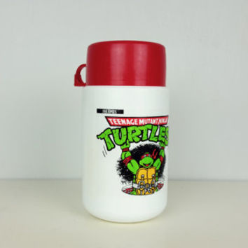 Vintage TMNT Thermos Red Raphael, Teenage Mutant Ninja Turtles Collectible Thermos, Vintage TMNT Thermos, Raphael Collectible, 80s 90s Kids
