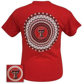 Texas Tech Red Raiders Preppy Mandala T-Shirt