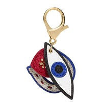 Tory Burch Kerrington Appliqué Lucky Charms Key Fob
