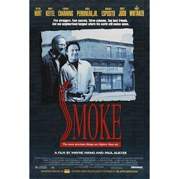 smoke poster Metal Sign Wall Art 8in x 12in