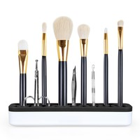 Magic Silicone Makeup Brushes Holder Portable Make Up Brush Holder Box Makeup Tools Storage Cosmetic Brush Box 3 Colors