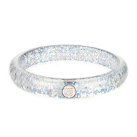 Resin button bangle - Grey | Jewellery | Ted Baker UK