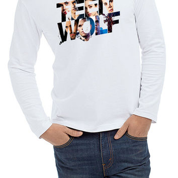teen wolf cool logo men Long Sleeve T-shirt  Size S,M,L,XL.,XXL