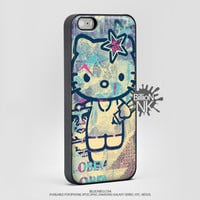 Obey Hello Kitty Phone Case For Iphone, Ipod, Samsung Galaxy, Htc