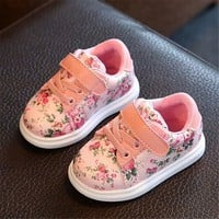 Cute Baby Shoes For Girls Soft Moccasins Shoe 2017 Autumn Pink Flower Baby Girl Sneake