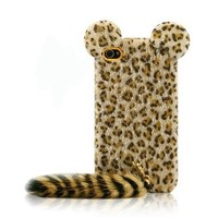 Cute Leopard Prints Case iPhone 4 / 4S