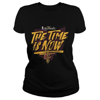 Cleveland Cavaliers Finals Shirt Premium Fitted Ladies Tee