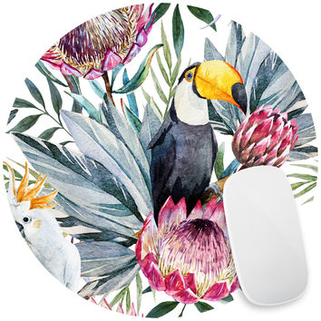 Sir Toucan Mouse Pad Decal