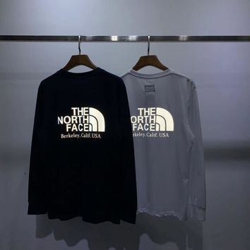 HCXX 19Aug 309 The North Face Purple Label 3M Reflective LOGO Long-sleeved T-shirt
