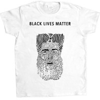 Black Lives Matter Figure -- Women's T-Shirt
