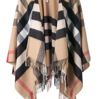 Burberry House Check Cape - Michael Meyer Kampen - Farfetch.com