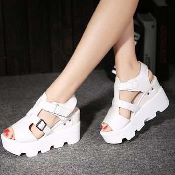 Women High Heel Casual Sandals Shoes