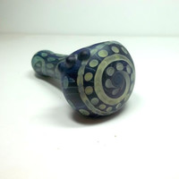 Glass Pipe, Sandblasted Full Color Beautiful Pipe, One of a Kind, Cgge Team, Ready for shipping M54