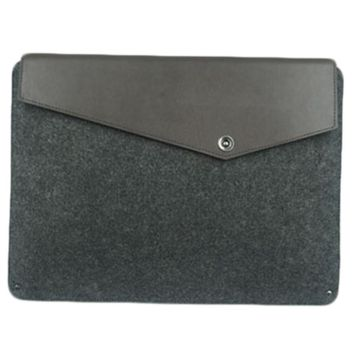 11 Inch Leather Protective Sleeve Liner Bag,Apple Laptop Bag