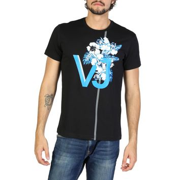Versace Jeans- Floral Background Logo T-Shirt