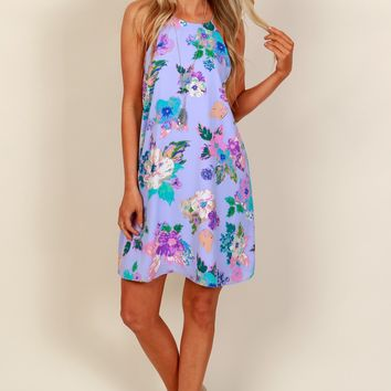 It's in the Pastel Shift Dress Lilac