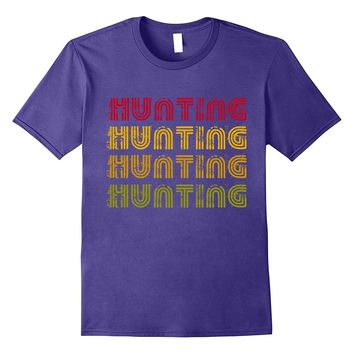 Classic Vintage Retro Hunting. Funny Tshirt Gift For Hunter