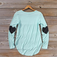 cute heart top:)