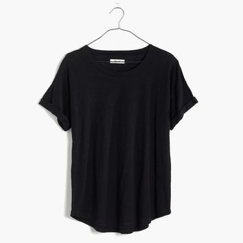 Whisper Cotton Crewneck Tee : | Madewell