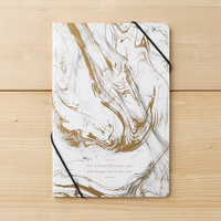 LIKE A BEAUTIFUL STORY THAT JUST HAPPENED TO BE TRUE 2-Pack Marble Notebooks