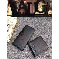 VERSACE MEN'S NEW TOP LEATHER WALLET