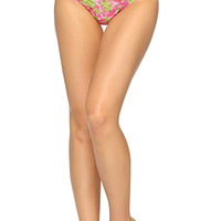 Lilly Pulitzer Hanky Panky Low Rise Thong