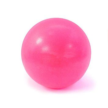 Mini PVC Pilates, Yoga, 25cm, Fitness Ball (Home Exercise Balance Trainer)