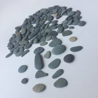 150 pc Flat Beach Stones/ Flat Pebble/ Mix Sea Stones/ Crafting Sea Stones/Pebble/Pebble Art/ Sea Stone Supply/ Sea Pebbles/Sea Stone