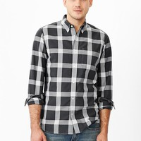 Gap Men Buffalo Plaid Oxford Shirt