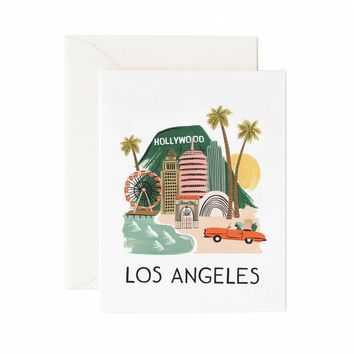 Los Angeles Greeting Card by RIFLE PAPER Co. | Made in USA