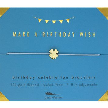 Birthday Celebration Bracelet - Birthday Wish