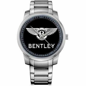 BENTLEY LOGO Metal Watch
