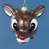 6 Christmas Ornaments - Rudolph