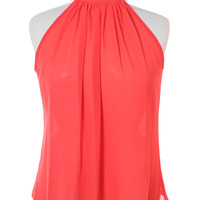 Plus Size Butterfly Back Sheer Coral Top, Plus Size Clothing, Club Wear, Dresses, Tops, Sexy Trendy Plus Size Women Clothes