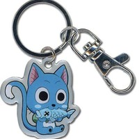 Fairy Tail: Happy Metal Keychain
