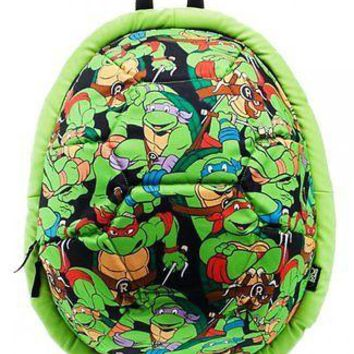 Teenage Mutant Ninja Turtle All Over Print Shell School Back Pack TMNT