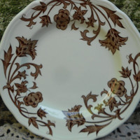 Set of 4 J  G Meakin England Plates Pattern Windsong - Serving Plates - English Transferware Plates -  Royal Staffordshire - ironstone