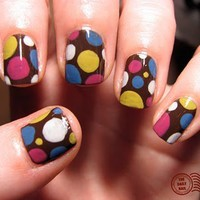 The Daily Nail: Polka Party!