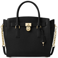 MICHAEL Michael Kors Studio Hamilton Large East West Satchel | macys.com
