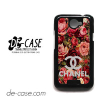 Floral Chanel 2 For HTC One X Case Phone Case Gift Present YO