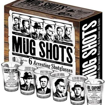 Mug Shots Shot Glasses - LAST ONE!
