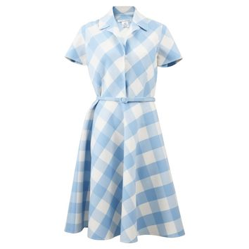Oscar de la Renta: Buffalo Check Dress