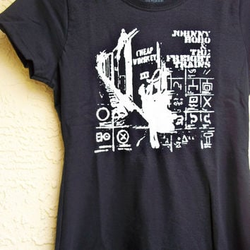 Johnny Hobo and the Freight Trains T shirt Mens or Womens (S,M,L,XL,2XL)